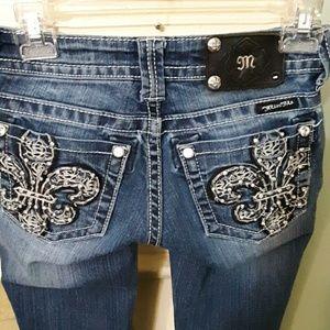Miss Me Bootcut Denim Jeans Sz Sz 24